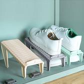 可調節簡易鞋架 鞋子收納架 可拆卸 雙層 收納 DIY 整理 防滑【Q192】米菈生活館