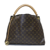LOUIS VUITTON LV 路易威登 原花肩背包 城市包 Artsy MM M40249【二手名牌BRAND OFF】
