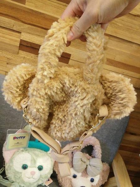 【現貨在台】達菲 雪莉玫 畫家貓 史黛拉兔【中型斜背包零錢包】香港代購 迪士尼樂園正版商品