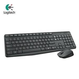 全新 Logitech 羅技 MK235 無線鍵鼠組 滑鼠有電源開關 防退色處理