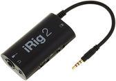 凱傑樂器 IK Multimedia iRig 2 吉他傳輸介面(海國原廠540天保固)