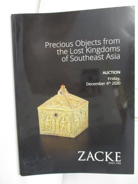 【書寶二手書T1/收藏_FHQ】ZACKE_Precious Objects From The Lost Kingdoms…2020/12/4