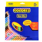 COLORS 色鉛筆 (24色) 六角色鉛筆 油性色鉛筆 彩色鉛筆 鉛筆 文具 5348 好娃娃