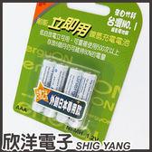 NEXCELL 耐能 AAA 鎳氫低自放4號充電電池(立即用) 800mah 4入 / 台灣第一,竹科研發製造,外銷日本