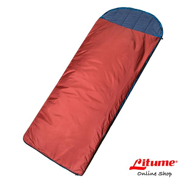 【Litume】科技棉睡袋『磚紅』C062 露營.登山.戶外.度假打工.背包客.自助旅行.居家