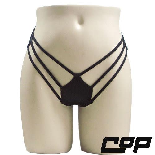 女內褲(COP)F283黑-F-三角
