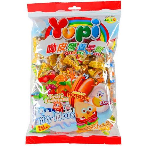 YUPI喲皮QQ糖超值組合包500g【愛買】