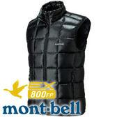 【Mont-Bell 日本 Superior Down Vest 男800FP羽絨背心 黑】1101468/羽絨背心★滿額送
