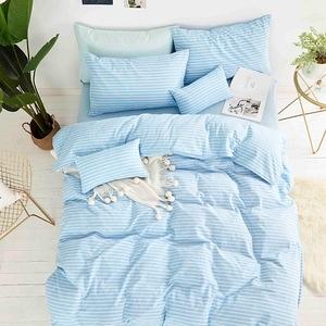 TRONlife好床生活|水洗純棉四件式兩用被床包組|馬爾地夫雙人