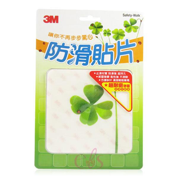 3M 防滑貼片(植物) 六入裝 ☆艾莉莎ELS☆