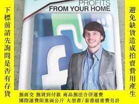 二手書博民逛書店Social罕見Media PROFITS FROM YOUR HOME(社交媒體從你的家中獲利)精裝庫存Y6