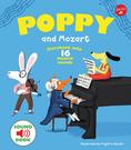 【麥克書店】POPPY AND MOZART莫札特古典音樂美感英文聲音童書《聲音書/ 樂器》