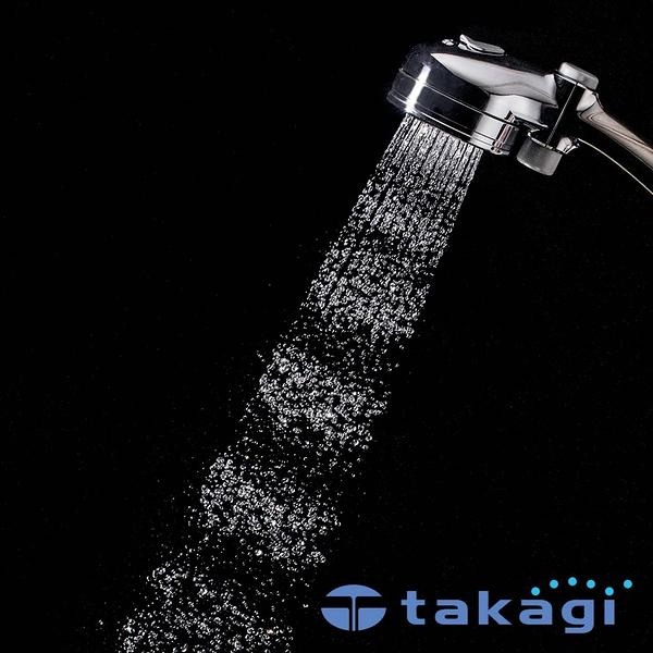 【takagi】Air beat 拍打按摩蓮蓬頭(光澤銀) 鈴木太太