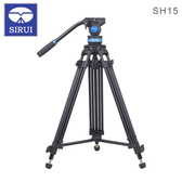EGE 一番購】Sirui 思銳【SH-15】鋁合金錄影油壓三腳架套裝 75mm碗公【公司貨】