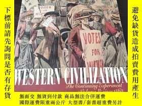 二手書博民逛書店Western罕見Civilization (Volume Ⅱ)