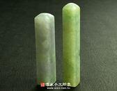 頂級糯豆種緬甸玉臍帶印章《全手工噴砂》六分,正常高度,單章。全配包裝。傳家手工印章