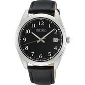 SEIKO 簡約經典 藍寶石鏡面腕錶 6N52-00F0C / SUR461P1