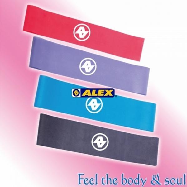 【ALEX】環狀彈力圈-桃紅/紫/藍/鐵灰(只)C-58