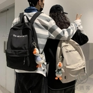 情侶雙肩包書包韓版後背包女背包學生百搭男【小酒窩服飾】
