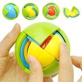 益智球3D智力球立體拼球拼裝兒童益智玩具4-6歲男智力開發迷宮球    韓小姐的衣櫥