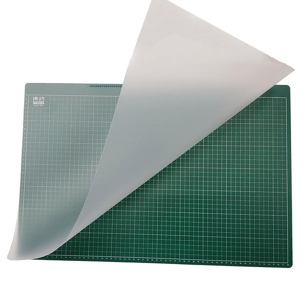 成功牌無毒多功能雙層桌墊(可切割)(美工用品/讀書/書桌/辦公室/夾層/切割墊/開學)