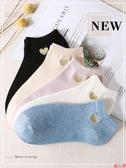 女士襪子可愛日系秋冬季短襪加厚船襪非純棉淺口隱形襪女襪ins潮-『美人季』