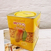 LOT 100一百份芒果QQ軟糖存錢筒 300g/筒 【4715243061942】 (精美伴手禮)