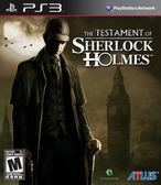 PS3 The Testament of Sherlock Holmes 福爾摩斯的遺囑(美版代購)