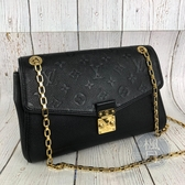 BRAND楓月 LOUIS VUITTON LV 路易威登 M48931 黑色 原花 SAINT GERMAIN PM