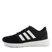 Adidas NEO QT Racer [DB0275] 女鞋 運動 慢跑 黑 白