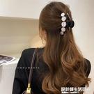 韓國優雅氣質發夾子頭飾洗澡抓夾一字彈簧發抓發卡法式復古後腦勺 設計師生活