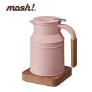 日本mosh!溫控電水壺 M-EK1 PE 蜜桃粉