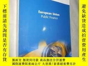 二手書博民逛書店European罕見Union Public Finance 歐