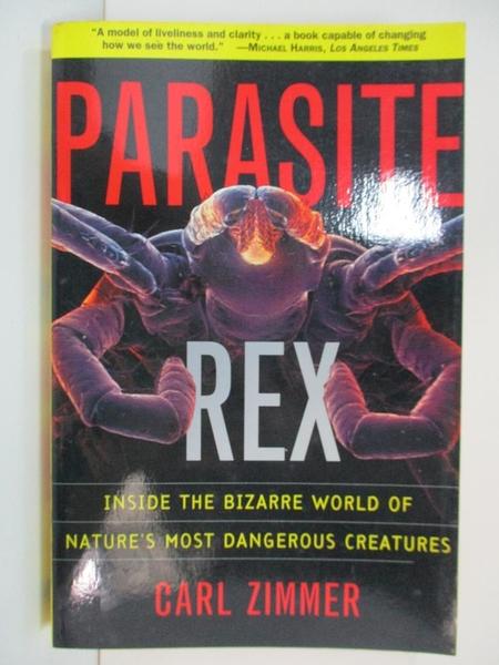 【書寶二手書T1/大學理工醫_B5S】Parasite Rex: Inside the Bizarre World of…