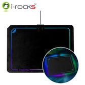 i-Rocks 艾芮克 IRC13E RGB發光滑鼠墊