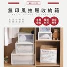 【IDEA】無印風抽屜收納箱-小2入組【KE-001】