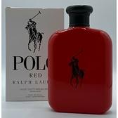 Ralph Lauren POLO RED 紅馬球男性淡香水 125ml-Tester包裝