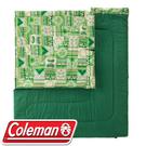 【Coleman 美國 2in1家庭睡袋 C10】CM-27256/可機洗/睡袋/棉被/睡墊