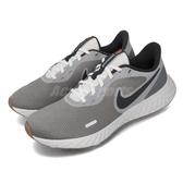 Nike 慢跑鞋 Revolution 5 灰 白 男鞋 基本款 運動鞋 【PUMP306】 BQ3204-008