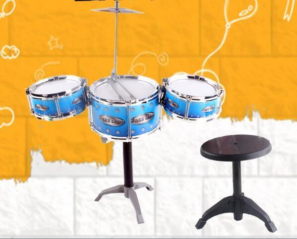 兒童初學者架子鼓3-6歲小孩爵士鼓敲打鼓樂器玩具大號男女孩禮物tz7827【棉花糖伊人】
