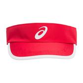 Asics 亞瑟士 [3043A018-600] 網球帽 空心帽 防曬 遮陽 運動 紅