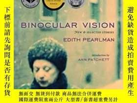 二手書博民逛書店Binocular罕見VisionY364682 Edith Pearlman Lookout Books