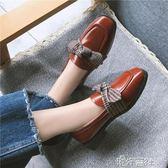 春夏季百搭學生韓版女鞋豆豆鞋平底潮街拍小皮鞋單鞋 港仔會社