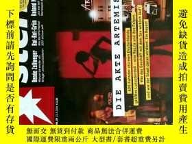 二手書博民逛書店Stern罕見2016年9月22 NR.39 德國明星週刊 德語