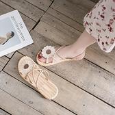 2021年夏季新款學生百搭ins潮平底羅馬女鞋時尚仙女風女士涼鞋女 【端午節特惠】