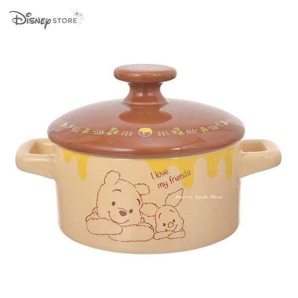 日本 Disney Store 迪士尼商店 限定 小熊維尼 陶瓷小砂鍋