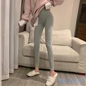 衛生褲 2020新款正韓外穿打底褲女內穿秋褲高腰小腳褲加絨保暖緊身褲