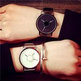 正韓個性概念手手錶男中學生正韓簡約休閒復古潮流創意女手錶WY【雙12 聖誕交換禮物】