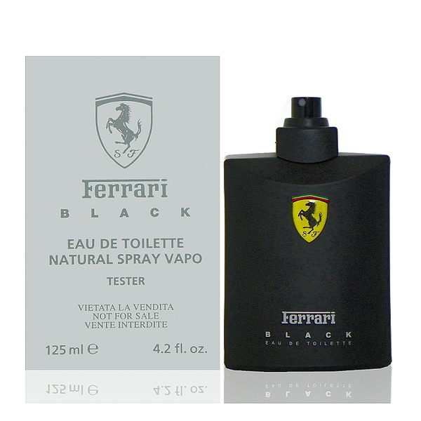 Ferrari Black 黑色法拉利淡香水 125ml Test 包裝 - 舊包裝