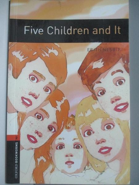 【書寶二手書T8/原文書_AOE】Five Children and It_Nesbit, Edith/ Mowat, Diane (RTL)